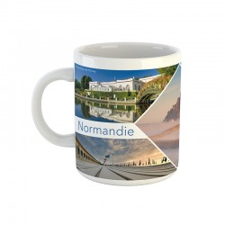 Mug Normandie - 5 départements