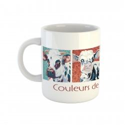 Mug vaches couleurs de...