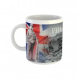 Mug soldat britannique 14/18