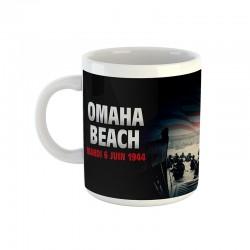 Mug Omaha Beach (noir)