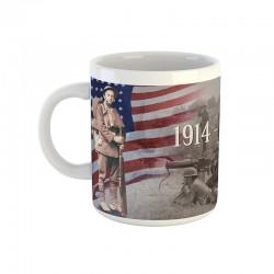 Mug soldat américain 14/18