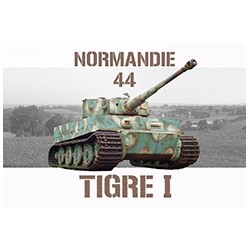 Magnet char tigre