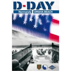 Carte postale DDay Omaha Beach
