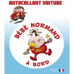 Autocollant Bébé normand...